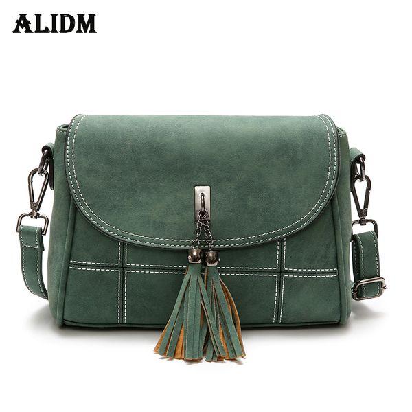 afbe3894ccf3 Brand Tassel Flap Women Bag Vintage Scrub Crossbody Bags For Women Thread  Handbags Designer High Quality