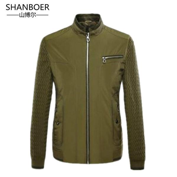 2018 chaqueta de los hombres de la chaqueta de la ropa casual chaqueta de los hombres de la chaqueta Slim fit Chaqueta de los hombres del vestido de boda de Cachemira más tamaño solo traje de Buon