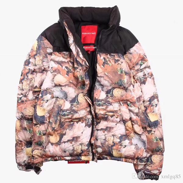 Original hommes et femmes Maple veste à capuchon bas vêtements en coton lâche Hip hop automne chute du couple couche manteau chaud nouveau style