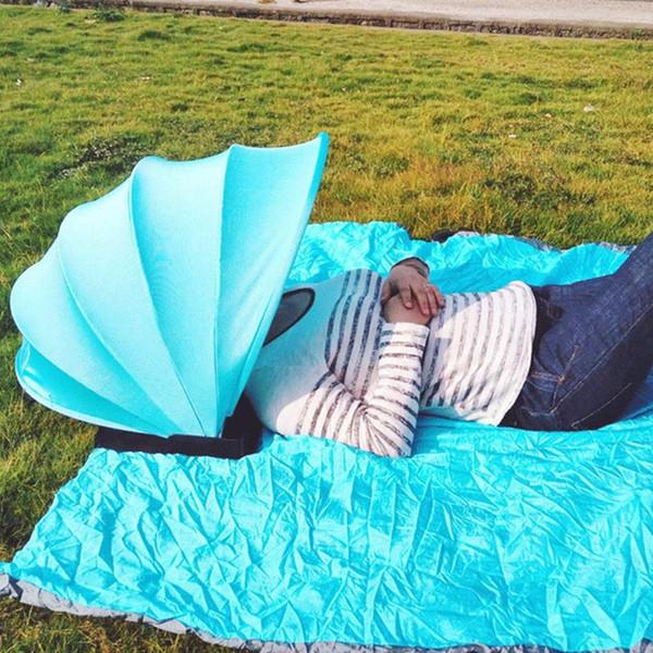 Ombrellone Portatile Da Spiaggia.Acquista Parasole Portatile Protezione Solare Tenda