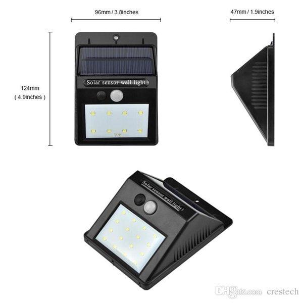 Großhandel Neue Ankunft Solar Wireless Led Lampe 16 Leds Solar Led ...