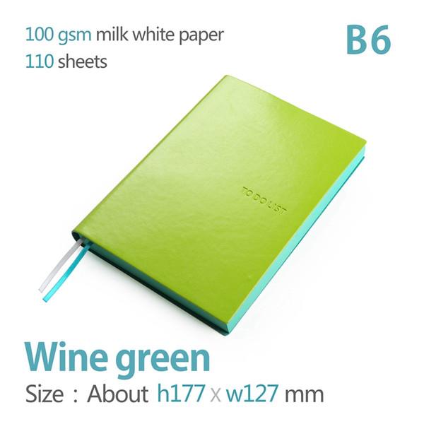 wine green B6 172x127mm