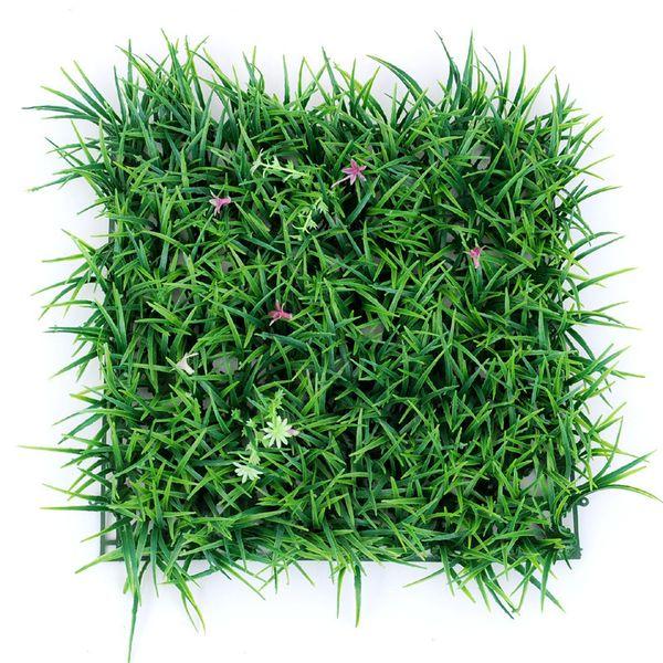 30 * 30 cm Plantes Artificielles Pelouse Pelouse Planta Gazon Artificiel Pelouses Tapis Sod Jardin Décor Maison Ornements En Plastique Tapis De Gazon