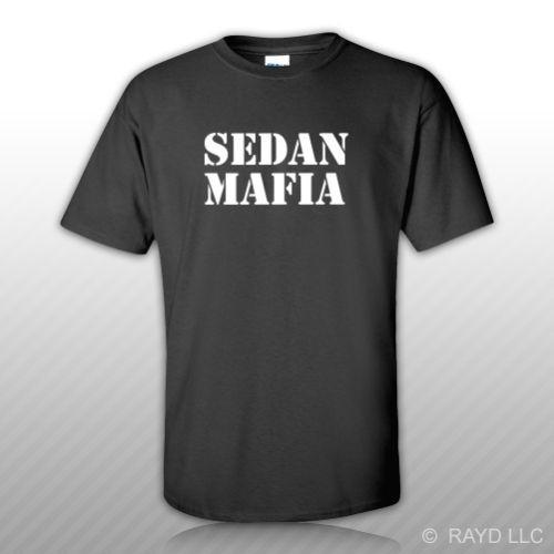 Sedan Mafia T-Shirt T-Shirt S M L XL 2XL 3XL Baumwolle JDM