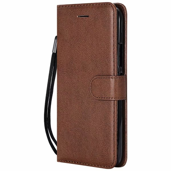 Wallet Case For Motorola Moto G5S Flip back Cover Pure Color PU Leather Mobile Phone Bags Coque Fundas For Moto G5S