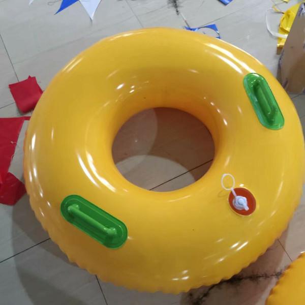 flotadores de donas inflables utilizados para el parque acuático de agua de la ciudad tobogán el tipo de ciudad simple y doble