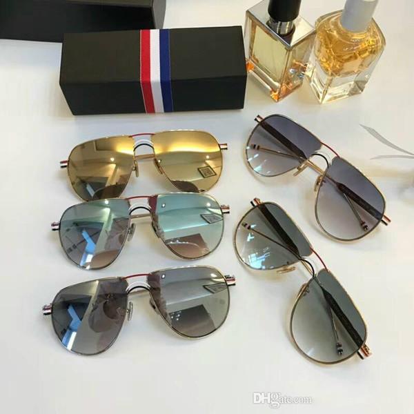 Designer de óculos de sol para homens óculos de sol de luxo para as mulheres homens óculos de sol das mulheres mens óculos de marca designer de óculos de sol oculos de TB132