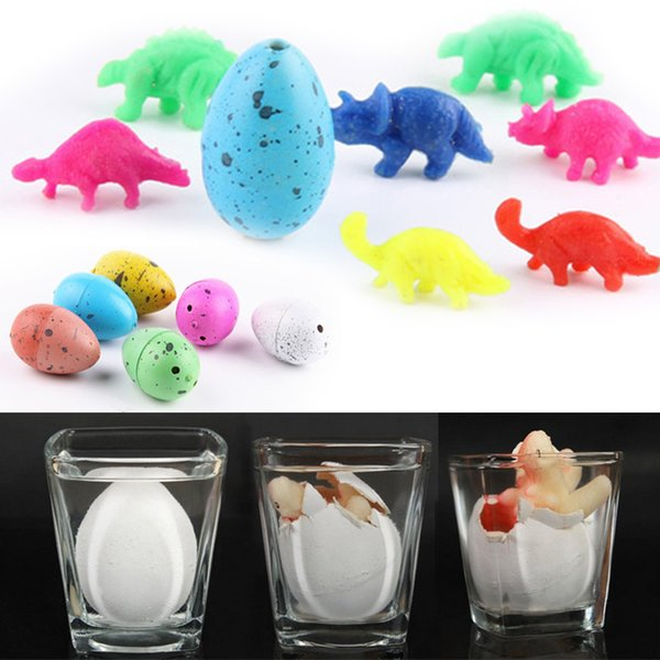 5Pcs Toys That Grow In Water Stree Ball Egg Colorful Hatching Growing Egg Funny Toys Baby Boys Girls Novelty Gadget Toy
