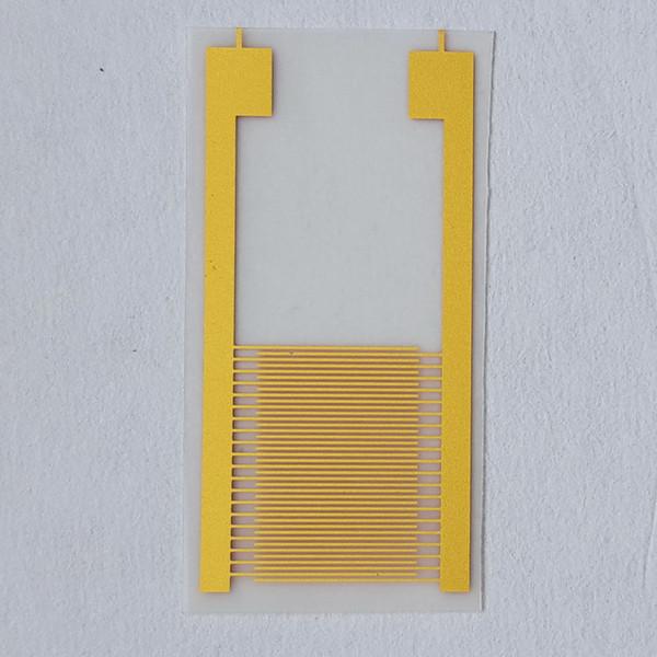 top popular 100um Flexible Polyethylene Terephthalate (PET) Interdigitated Gold Electrodes IDE Gas Sensor Interdigital Capacitor Arrays Chip (10mm-20mm) 2020