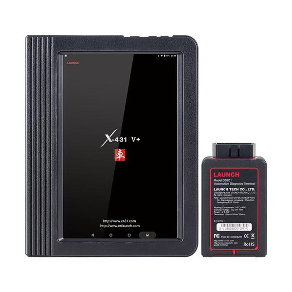 Launch X431 V+ Wifi & Bluetooth Tablet Full System Auto OBD2 Scanner ECU Coding Diagnostic Scan Tool Multi-Language