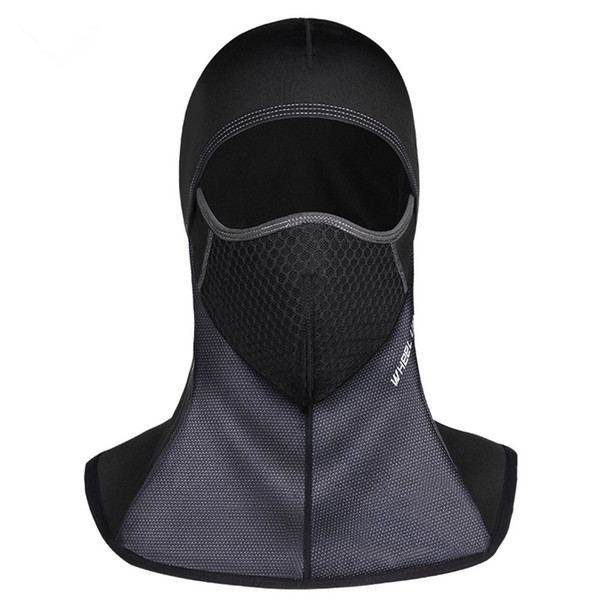 Winter Cycling Face Mask Cap Ski Bike Mask Face fleece lycra Snowboard Shield Hat Cold Headwear Waterresistant Bicycle Face Mask