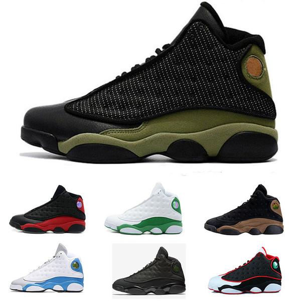 13 XIII Schuhe Gezüchtet Qualität Schuhe Weiß Jordan Schwarz Großhandel Nike Air Braun 13 S Männer 2018 Frauen Hologramm Günstige Hohe Basketball Aj13 IEDH9YW2
