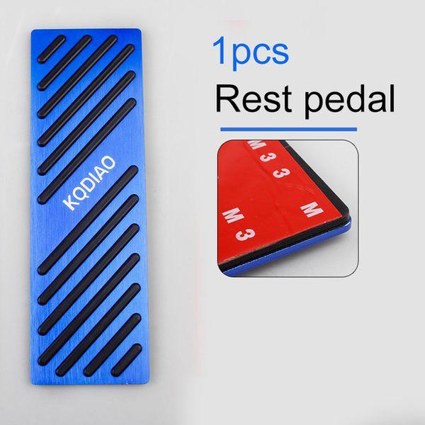 Renk adı: dinlenme pedalı mavi