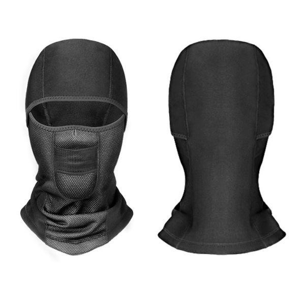 Unisex Winter Warm Hat Motorcycle Waterprrof Windproof Face Mask Hat Neck Helmet Beanies For Men Women Sports Bicycle Thermal Fleece Balacla