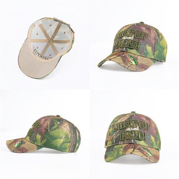 Easy To Use Sun Shading Hat Outdoor Hunting Fishing Blank Desert Baseball  Cap Camouflage Shut Up Fish Casquette 9 5sx Dd Flexfit Hats For Men From