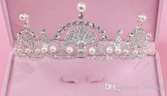 Bridal Wedding Accessory Sets Women Bridal Crown Necklace Wedding Veils Vintage Crystal Wedding Accessories Fashion 3 Pieces Bridal