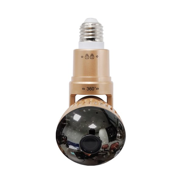 Nuovo stile fotocamera Bulb IB-175WM Home Security WIFI Camera APP Telecomando P2P IR LED Lampadina Supprot 32GB SD Storage
