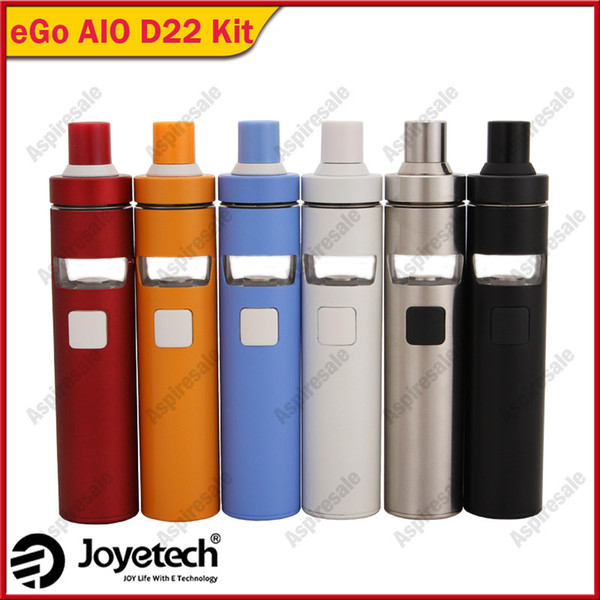 Joyetech eGo AIO D22 Kit with 2ml e-Juice Capacity Being All-in-one Style & Newly Added Childproof Lock System 100% Original DHL Free