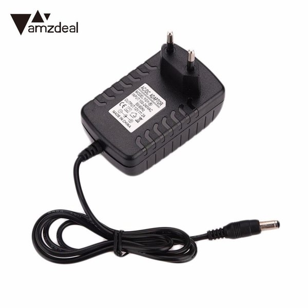 amzdeal 12V 2A Power Adapter 110-240V AC POWER SUPPLY ADAPTER CHARGER FOR 3528/5050 EU/US/UK/AU Plug
