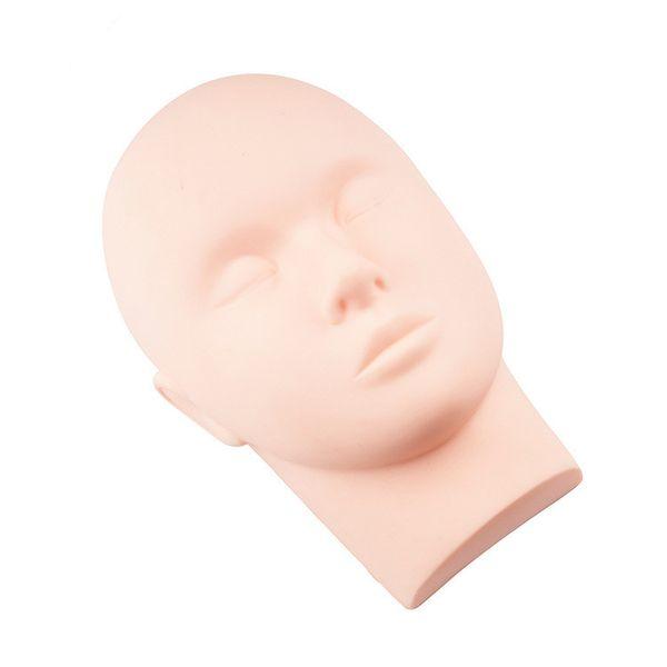 Entrenamiento Cabeza de maniquí Masaje Maquillaje Extensión de pestañas Modelo de práctica Sombreros Pelos Gafas Exhibición para pelucas Escaparate