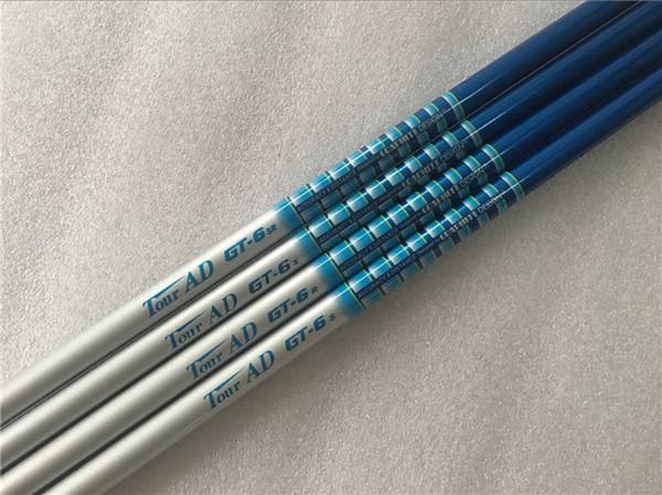 5pcs tour AD GT-6 tige de graphite S / SR / R / X 0,335 / 0,350 tige de graphite de golf pour Golf Woods EMS livraison gratuite