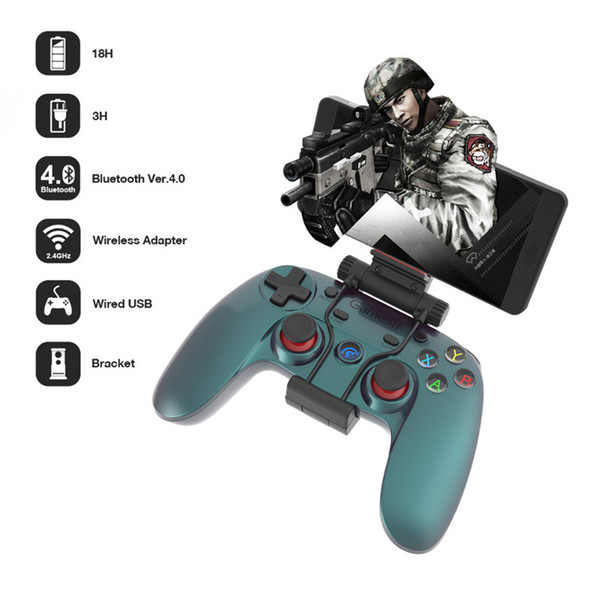 Gamesir G3V 2.4G Wireless Bluetooth 4.0 Controller PC Gamepad for iOS iPhone Android Phone TV Android BOX Tablet PC VR Game