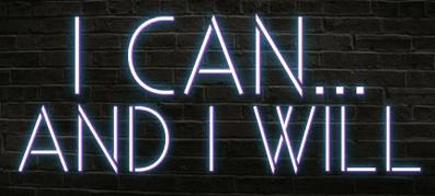 Neon sign I can and I will Beer Bar Pub Party Bedroom Home Wall Windows Display neon Light sign 14x9!!!