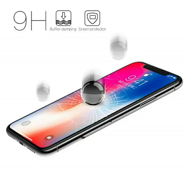 For iphone x glass For Apple iphone 8 Plus XS Max XR 4 4s 5 5s 5c SE 6 6s 7 Plus Touch 6 5 Screen Protector Tempered glass Guard Film Hot