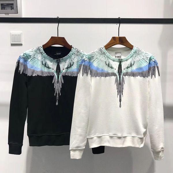 Damen Pullover mit Stehkragen Sweatshirt für Herbst Flügel