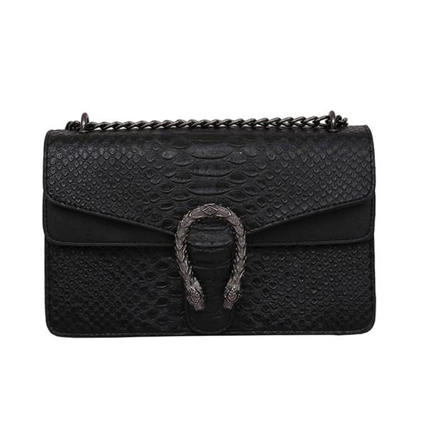 2018 новый прилив вина Бог сумка мода змея тиснением сумка цепи сумка Бесплатная доставка