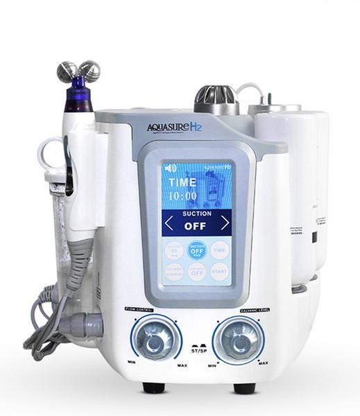 2018 Nuovo Arrivo Aquasure H2 Hydro Dermabrasion Hydra Facial Macchina BIO Lifting Massage Peeling Acqua Cura del Viso Deep Cleansing microcurrent