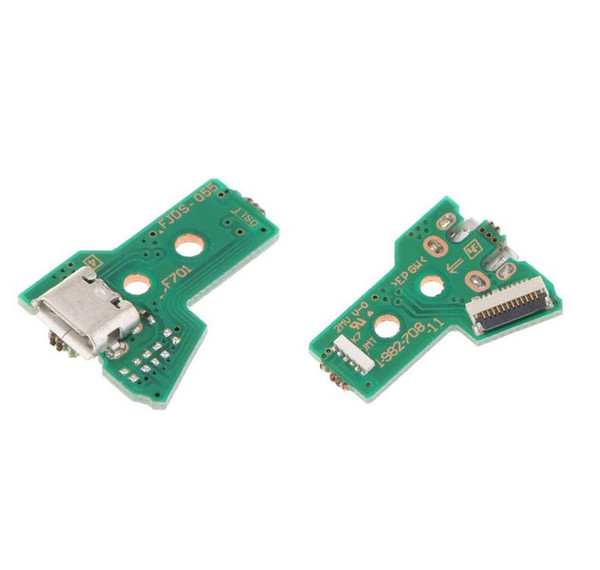 top popular Replacement USB Charger Charging Board Plate Port Socket JDS-050 for PS4 Controller 5th Generation JDS-055 DHL FEDEX EMS FREE SHIPPING 2021