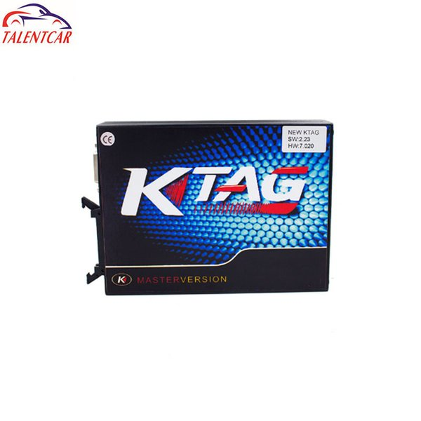 New Arrival KTAG V7.020 SW V2.23 Master Version 2.23 K TAG 7.020 No Token Limited For Car Truck K-TAG Auto ECU Programming Tool Mb Star C3