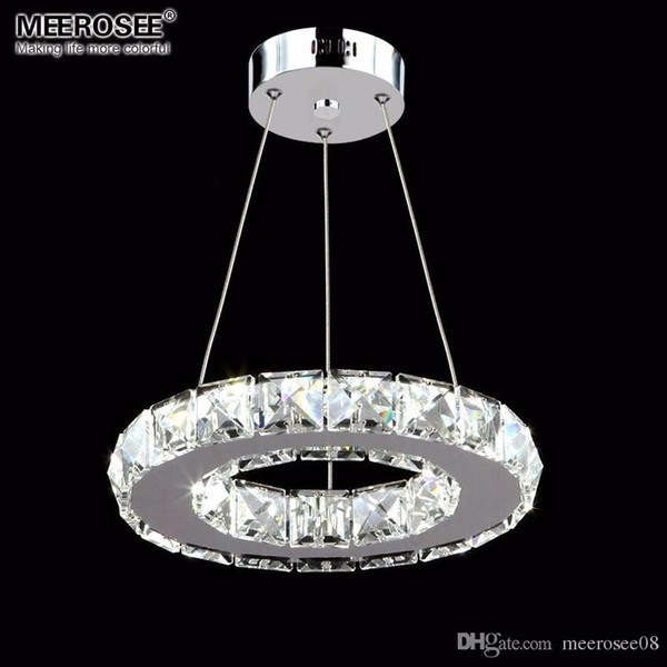 LED Kristal Kolye Işık Fikstürü Koridor Sundurma Koridor Lamba Kristal Yüzük Cilalar Asılı Aydınlatma 100% Garanti