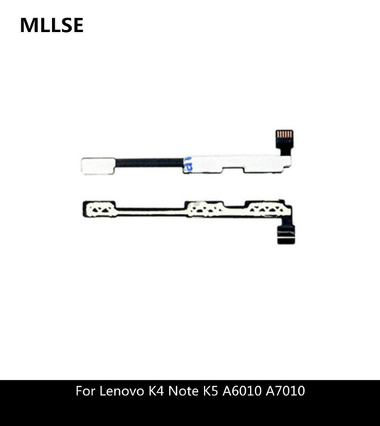 New Power Switch Flex For Lenovo K4 Note K5 A6010 A7010 Volume Side Button Flex Cable Replacement Parts
