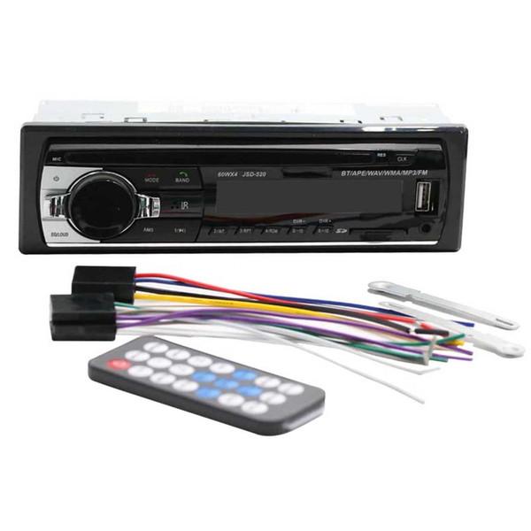 FM Receiver Radio Stereo Audio Music USB With Digital Screen Bluetooth Car MP3 WMA WAV Player Remote Control Multimedia