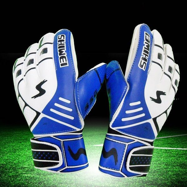5 color Goalkeeper gloves and gloves for children's goalkeeper gloves and children's extra thick latex anti-skid football training