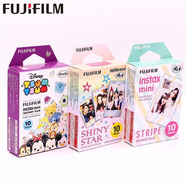 30 Blatt Instax TSUM TSUM + SHINY STAR + STRIPE Sofortbild-Fotopapier für Instax Mini 8 7s 25 50s 90 9 SP-1 SP-2 Kamera