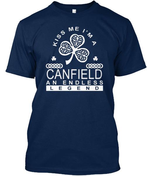Canfield: una leggenda senza fine - Kiss Me I am A Standard T-Shirt unisex (S-5XL)