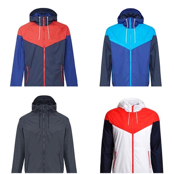 Men Spring Autumn Men's Thin Designer Jacket Coats Higt Quality Men Sports Windbreaker Zipper Nice Jackets Hoode Hoodie Men's Clothing