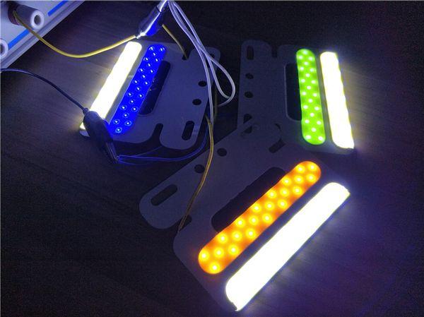 24v LED remorque camion COB Side Marker Lumière lampe étanche Largeur submersible Lampe Clearance DRL Blanc Car Styling