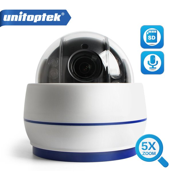 Wireless Speed Dome PTZ IP Camera Wifi HD 1080P 960P Auto Focus 5XZoom 2.7-13.5mm Indoor Audio SD Card IR Onvif P2P APP