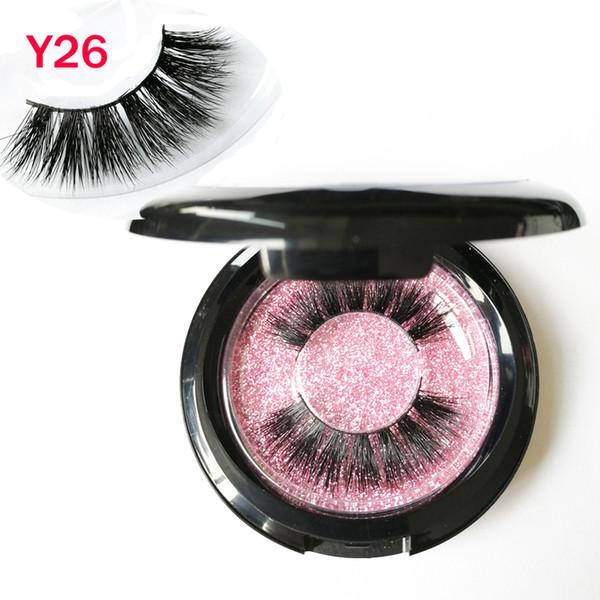3D Mink Lashes 100% Real Siberian 3D Mink Full Strip False Eyelash Long Individual Eyelashes Mink Lashes private logo GR56