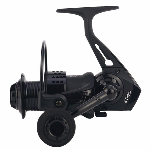 2018 Fishing Reels Metal CNC Rocker Arm Saltwater Ocean Fishing Spinning Reel Spare Wire Cup Seamless Reaction No Gap Structure