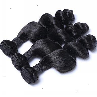 Brazilian Loose Wave Virgin Hair Extensions 100% Human Hair Weaving 6a preferential Pure Codlor Remy Brazilian Hair Extensions