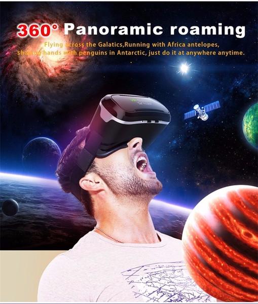 2018 Mais Novo Original vr shinecon 2.0 3D Óculos VR Virtual Reality 3D Jogo de Vídeo Teatro Privado