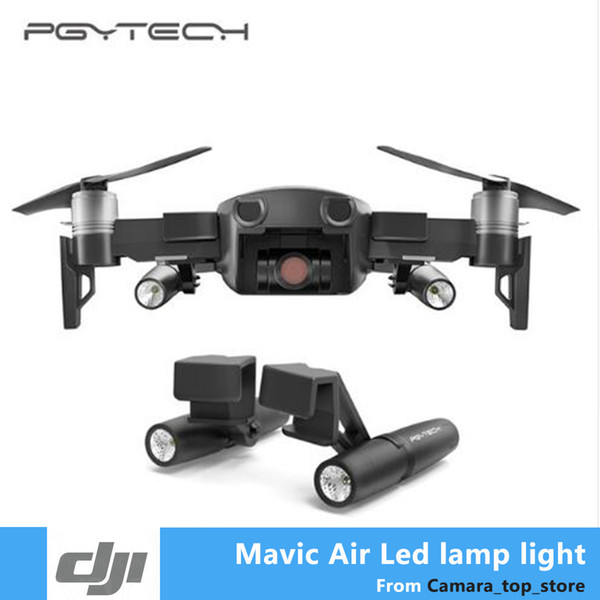 PGYTECH Portable Night Flight LED Light Kit Lighting for DJI Mavic Air Drone Accessories Free Shipping