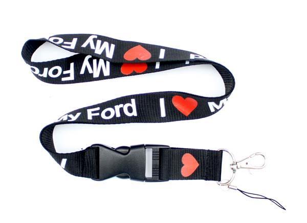 NEw! I Love ford-phone Lanyard - Key Chain Neck Strap Lanyards ID Ticket Badge Holder Strap