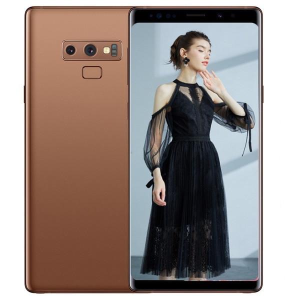 ERQIYU Goophone note9 note 9 smartphones 6.4inch Android 7.0 dual sim shown 4G RAM 128G ROM 4G LTE Unlocked cell phones