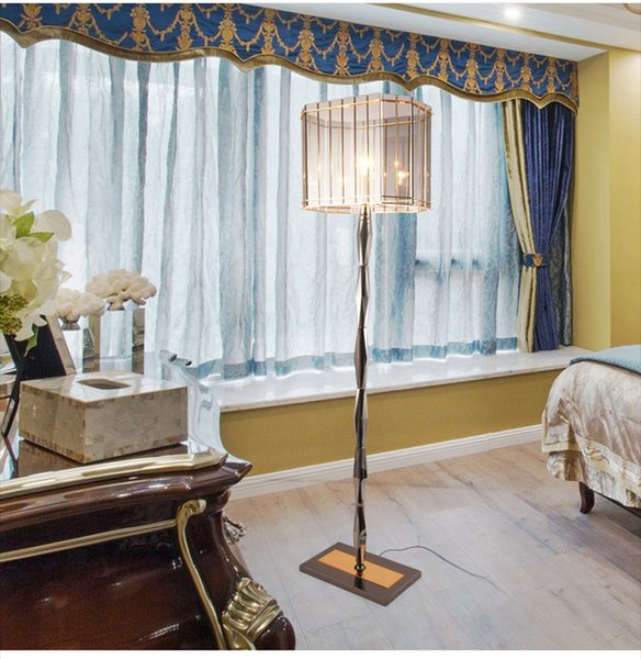 New Arrival Floor Light Fixture Hanging Standing Lamps Lustre Abajur for Reading Dinning Room Bedroom Hotel Cafe